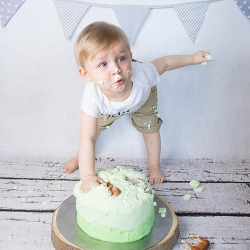 Cake Smash Shooting